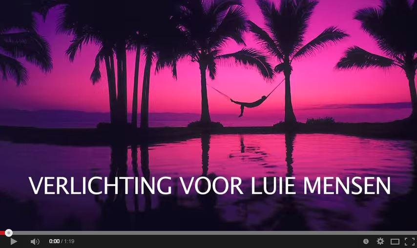 """Zaterdag 17 januari 2015, Paul Smit """"Verlichting voor luie mensen ..."""