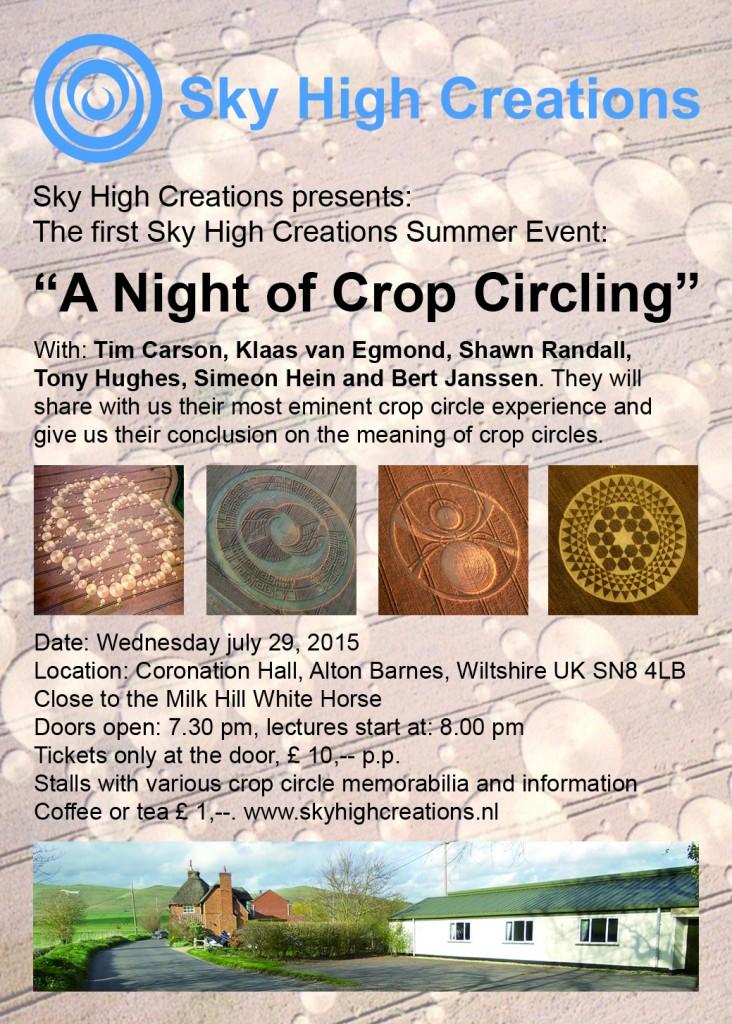 Summer Event Flyer Engels 2 met sprekers