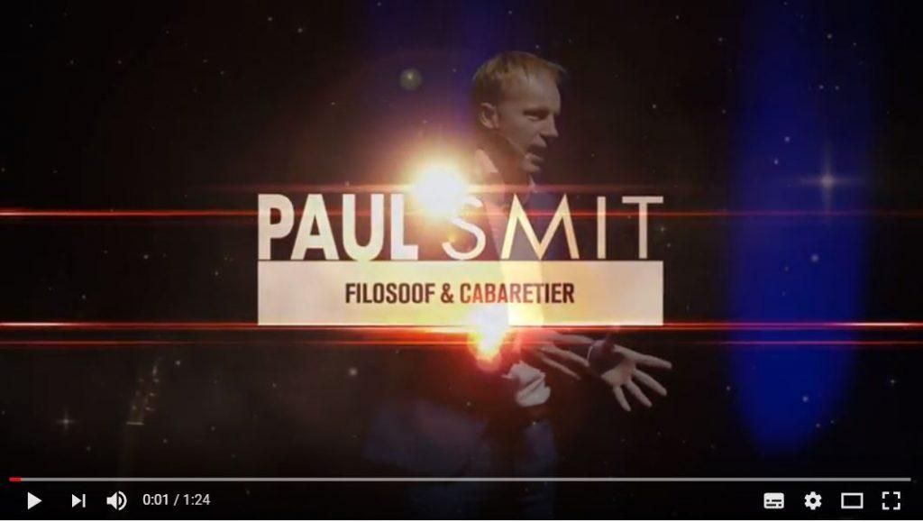 """UITVERKOCHT Woensdag 12 september 2018, Paul Smit """"Verlichting voor ..."""